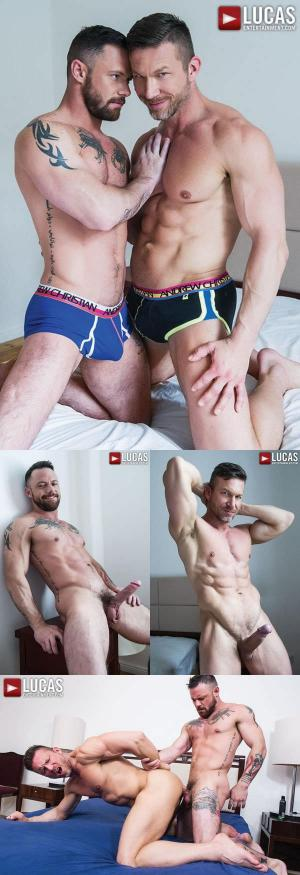 LucasEntertainment – Tomas Brand & Sergeant Miles Work Up An Intense Sweat – Bareback