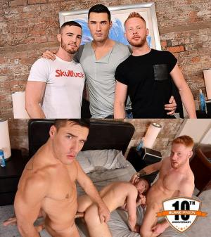 BlakeMason – BlakeMason Celebrates 10 Years with a Threesome! – JP Dubois, Theo Ford & Andro Maas