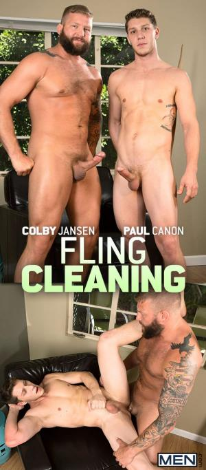 DrillMyHole – Fling Cleaning – Paul Canon bottoms for Colby Jansen – Men.com