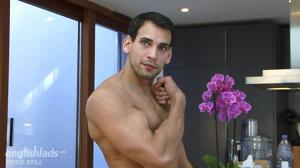 EnglishLads – Carl is Doug's Brother – Older, More Muscular & a Fetish for Vegetable Sex Toys – Carl Mitchell