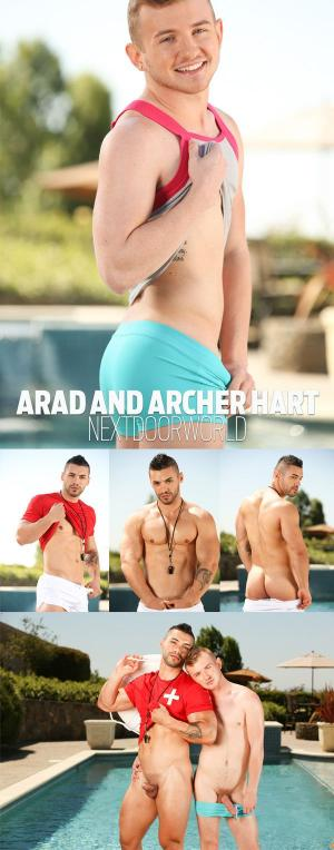 NextDoorTwink – The Lifeguard – Arad & Archer Hart