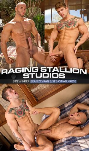 RagingStallion – Sidewinder – Sean Zevran bottoms for Sebastian Kross