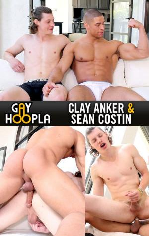 GayHoopla – Sean Plows Clay – Sean Costin Rims, Dildos, and FUCKS Clay Anker