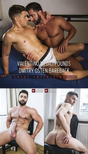 LucasEntertainment – Valentino Medici Pounds Dmitry Osten Bareback