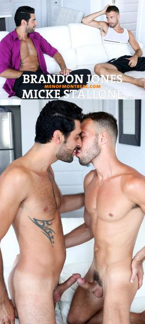 MenofMontreal – Craving Eyes – Part 1 – Brandon Jones & Micke Stallone