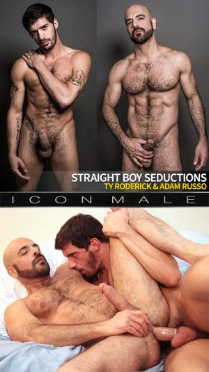 IconMale – Straight Boy Seductions – Ty Roderick pounds Adam Russo