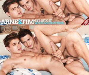BelAmiOnline – Tim Campbell & Arne Coen get into it with each other – Part 1 – Bareback