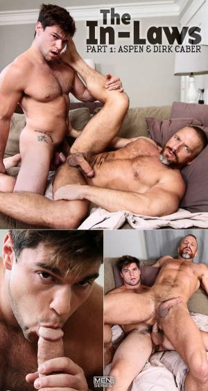 Str8toGay – The In-Laws, Part 1 – Aspen fucks Dirk Caber – Men.com