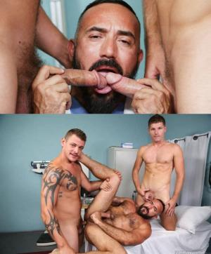 ExtraBigDicks – Bedside Manner Part 4 – Alessio Romero, Jace Chambers & Peter Fields