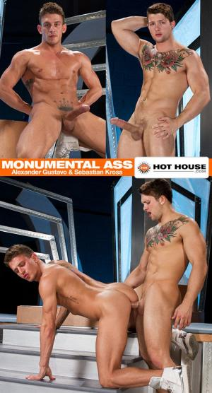 HotHouse – Monumental Ass Scene 2 – Alexander Gustavo & Sebastian Kross