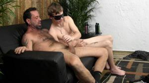 StraightFraternity – Young married guy blindfolded, rimmed and fingered‏ – Daddy's Toy – Franco & Warren