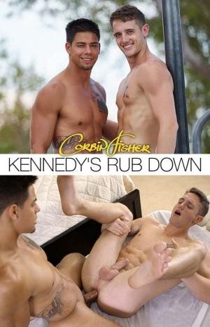 CorbinFisher – Kennedy's Rub Down – Marc barebacks Kennedy