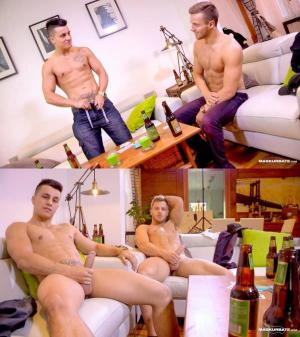MaskurBate – Dare 2 Strip? – Mike & Frank