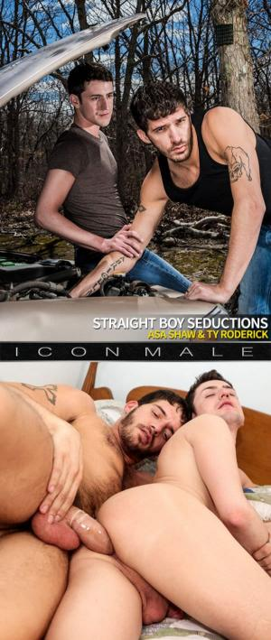IconMale – Straight Boy Seductions – Ty Roderick bangs Asa Shaw