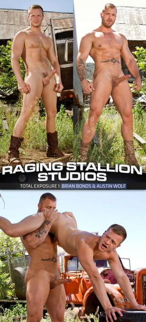 RagingStallion – Total Exposure 1 – Brian Bonds & Austin Wolf