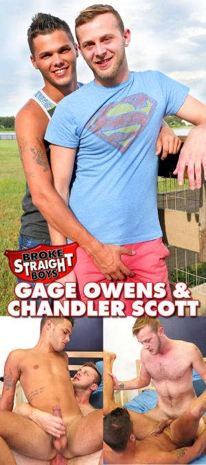 BrokeStraightBoys – Chandler Scott Fucks The Very Sexy Gage Owens Bareback