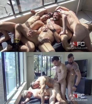 RawFuckClub – Folsom Fucking Four Part 2 – Bareback