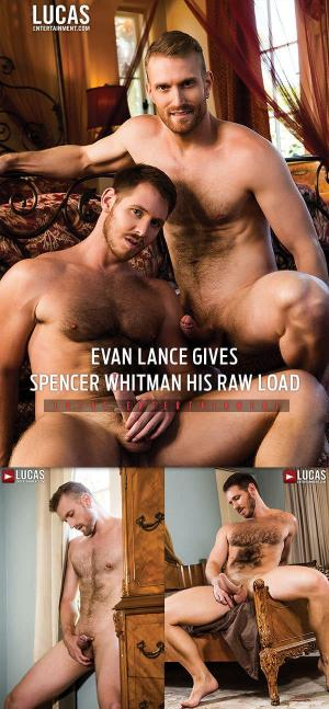 LucasEntertainment – Evan Lance Gives Spencer Whitman His Raw Load – Bareback