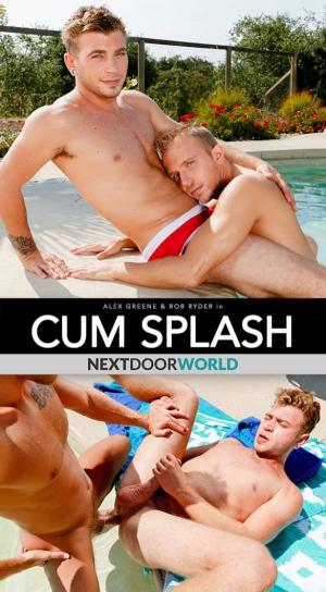 NextDoorBuddies – Cum Splash – Rob Ryder and Alex Greene flip fuck