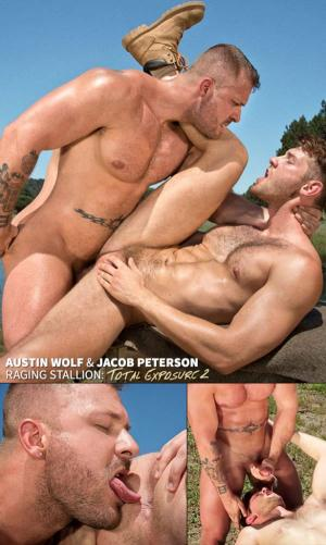 RagingStallion – Total Exposure 2 – Austin Wolf fucks Jacob Peterson
