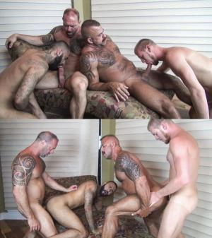 RawFuckClub – Dirty Fuck Fest – Job Galt, Vic Rocco, Rick Yokk & Billy Warren – Bareback