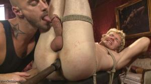 MenOnEdge – Daniel Lament – Edged so intensely that this tall stud shoots twice
