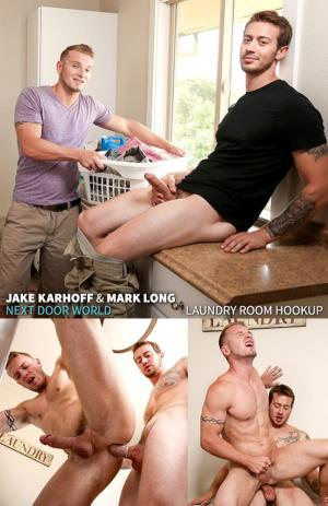 NextDoorBuddies – Laundry Room Hookup – Mark Long & Jake Karhoff