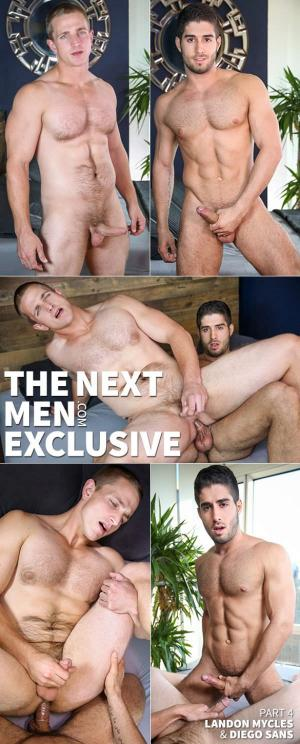 DrillMyHole – The Next Men Exclusive, Part 4 – Diego Sans fucks Landon Mycles – Men.com