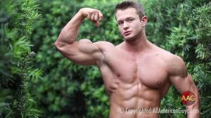 All American Guys – Joey S. looking great posing