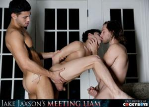 CockyBoys – Meeting Liam – Part 3 – Liam Riley, Ricky Roman & Tayte Hanson