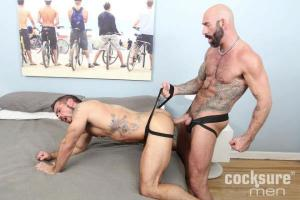 CockSureMen – Drew Sebastian Barebacks Aarin Asker