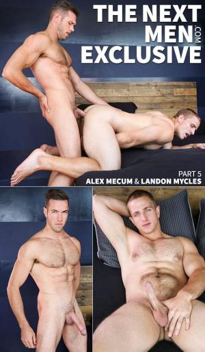 DrillMyHole – The Next Men Exclusive, Part 5 – Alex Mecum fucks Landon Mycles