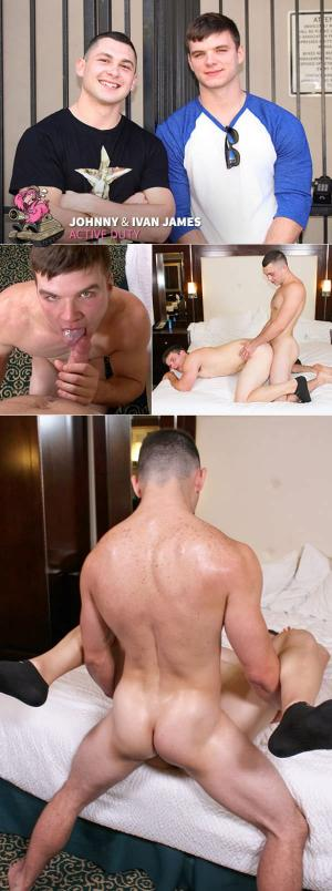 ActiveDuty – Ivan James & Johnny – Bareback