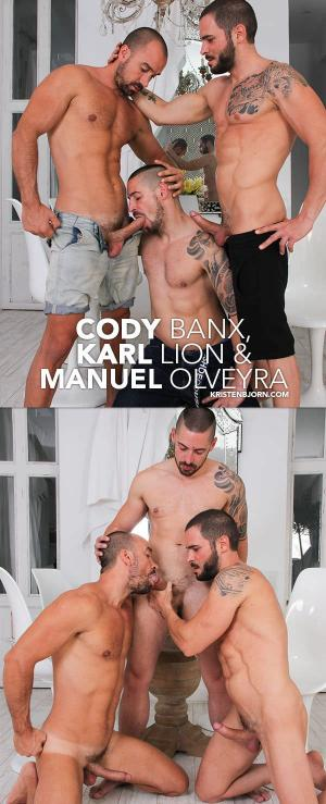KristenBjorn – Skins – The Cable Car – Cody Banx, Karl Lion & Manuel Olveyra – Bareback