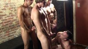 BuffBoyzzTV – Nude Stripper Party Part 2 – Cameron Foster, Carmine Deangelo, Damian Stretch & Kyle DeAnthony