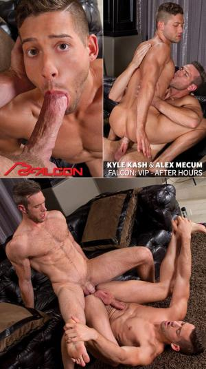 FalconStudios – VIP – After Hours – Kyle Kash rides Alex Mecum's big dick
