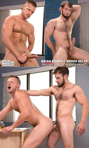 Raging Stallion – Dick Moves – Bravo Delta fucks Brian Bonds