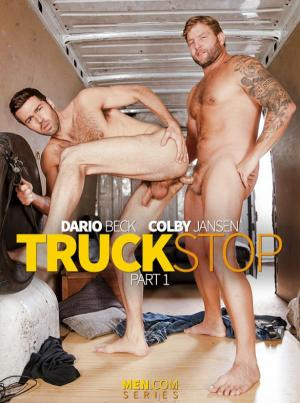 DrillMyHole – Truck Stop Part 1 – Colby Jansen fucks Dario Beck – Men.com