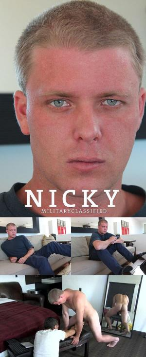 MilitaryClassified – Nicky – Handjob