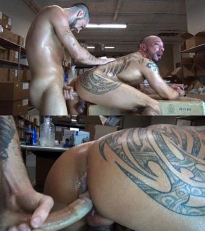 RawFuckClub – Hot Raw Work Break – Blake Riding & Eddie Kordova – Bareback