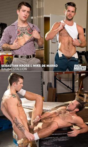 RagingStallion – Dick Moves – Sebastian Kross & Mike De Marko