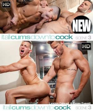 C1R – It All Cums Down To Cock – Scene 3 – Casey Everett & Landon Conrad
