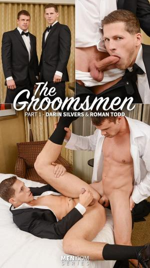 Str8 to Gay – The Groomsman Part 1 – Darin Silvers & Roman Todd – Men.com