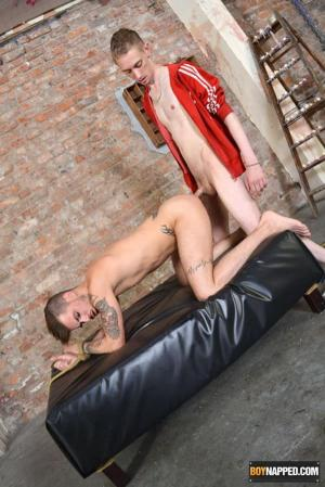 BoyNapped – Roped Down And Used As A Fuck Toy – Nathan Hope & Ashton Bradley