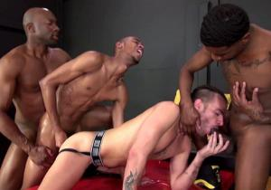 RawAndRough – Champ's Fuck Buds, Part 2 – Champ Robinson, Knockout, Lukas Cipriani & Tigger Redd – Bareback