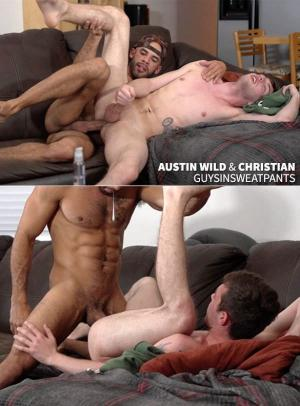 GuysInSweatPants – Austin Wilde Breeds Christian – Bareback