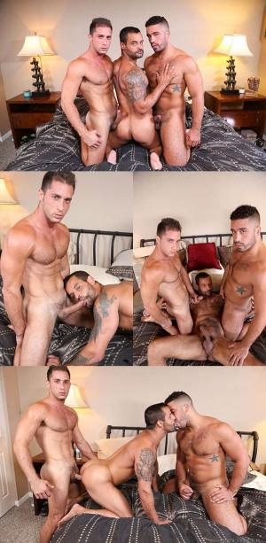 ExtraBigDicks – Tops Don't Like To Share – Trey Turner, Armando De Armas & David Benjamin