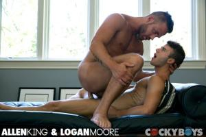 CockyBoys – Taking It From the Top – Allen King & Logan Moore
