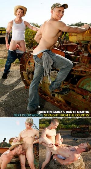 NextDoorBuddies – Straight From The Country – Dante Martin & Quentin Gainz