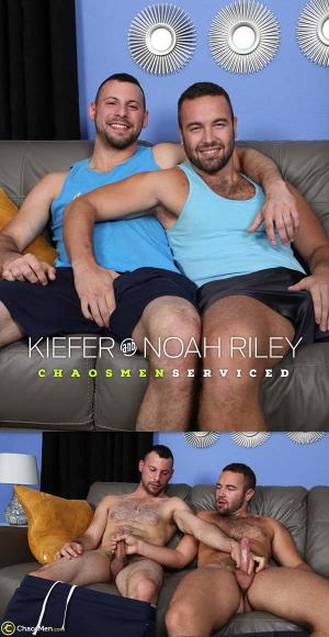 ChaosMen – Kiefer & Noah Riley Serviced